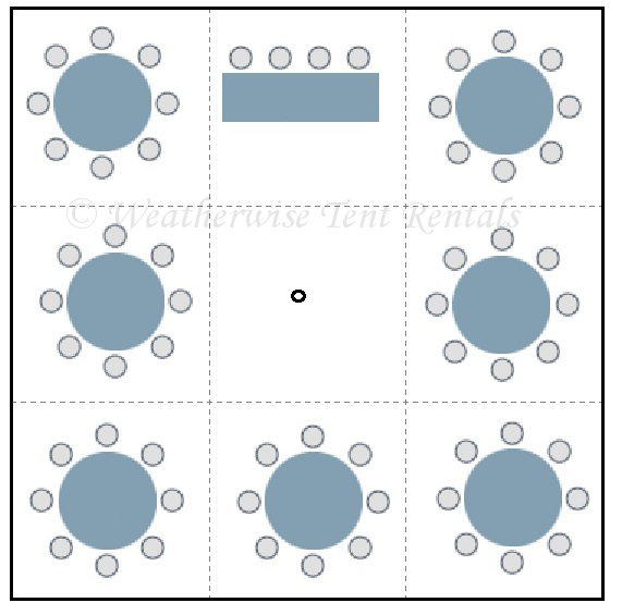Round Table Seating Capacity | conference table size and